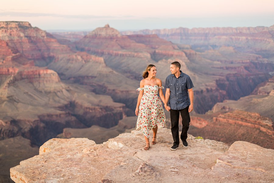 Taylor and Tommy: Northern Arizona National Park Portrait Photography destination engagement sessions