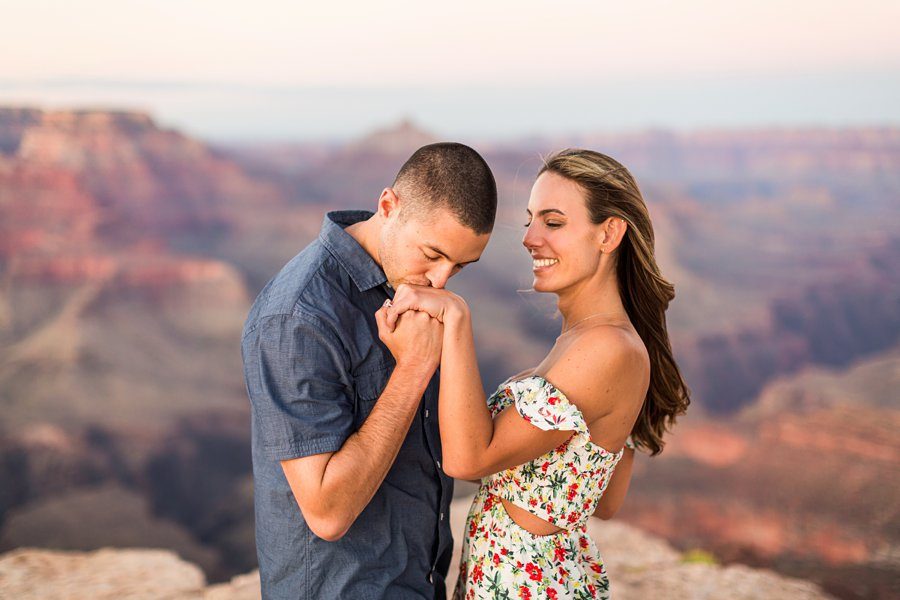 Taylor and Tommy: Northern Arizona National Park Portrait Photography best poses for couples