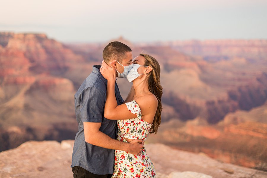 Taylor and Tommy: Northern Arizona National Park Portrait Photography COVID