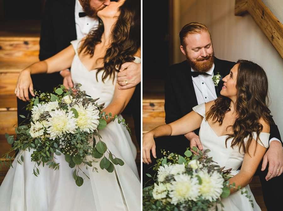 Flagstaff Arizona Venues: Styled Shoot intimate wedding portraits