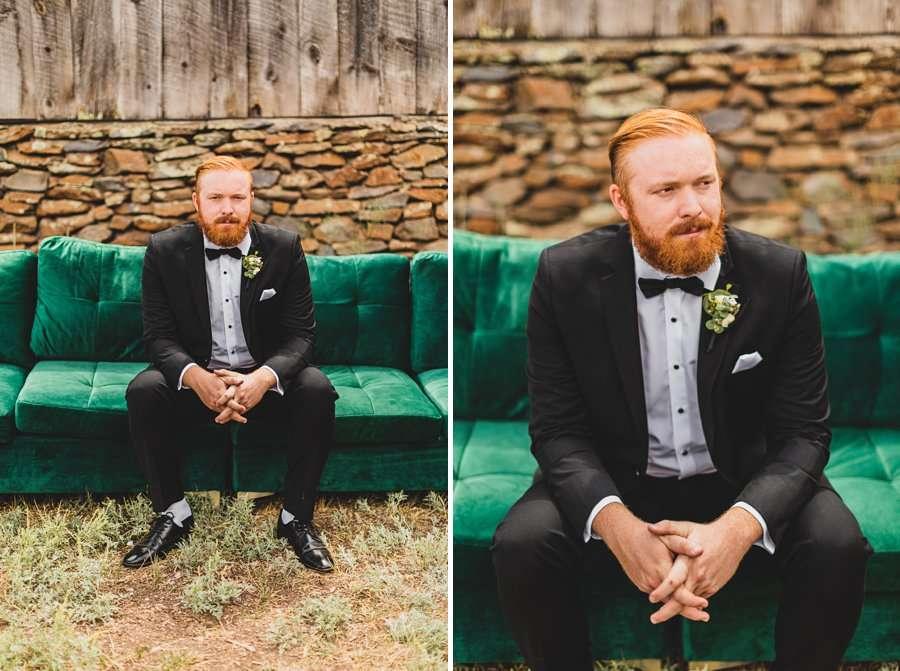 Flagstaff Arizona Venues: Styled Shoot groom alone