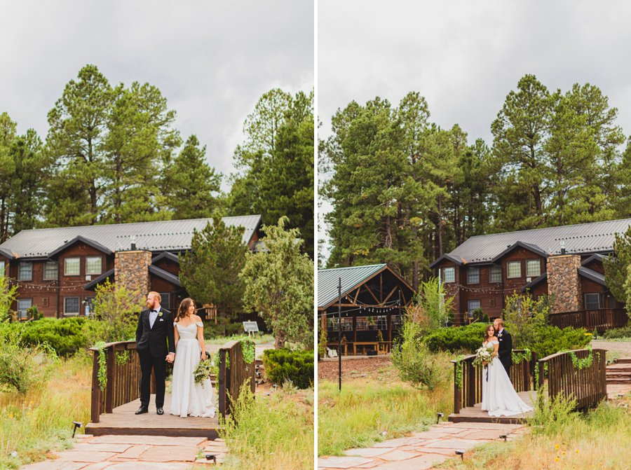 Flagstaff Arizona Venues: Styled Shoot couple together