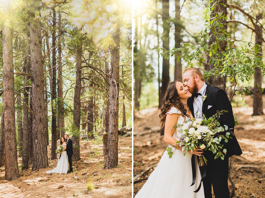 Aldea Weddings in the Woods: Styled Shoot best wedding locations in northern arizona