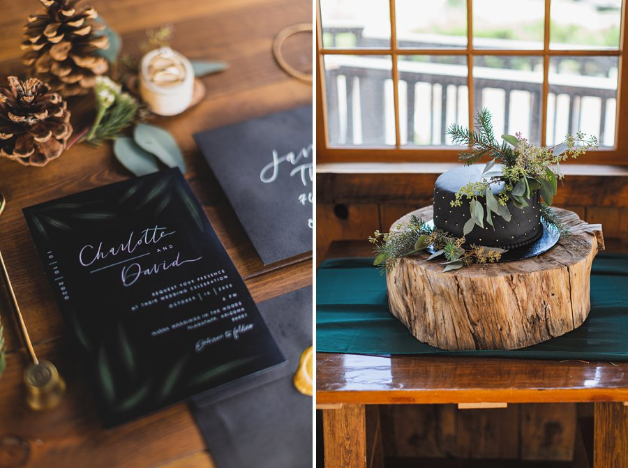 Flagstaff Arizona Venues: Styled Shoot maddy made designs invitations