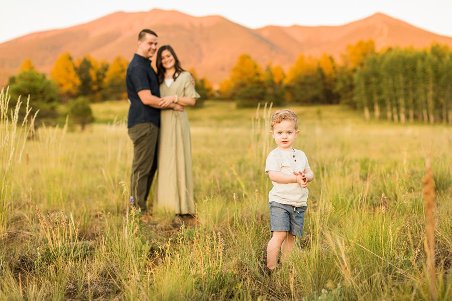 Anderson Family: Flagstaff Arizona Family Pictures best place to watch the sunset