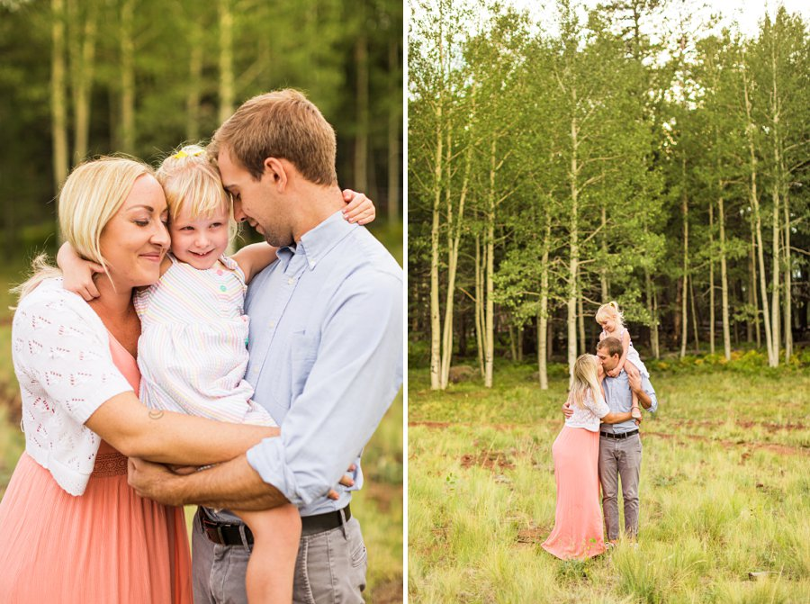 The Flood Family: Arizona Sunflower Family Session family snuggles together