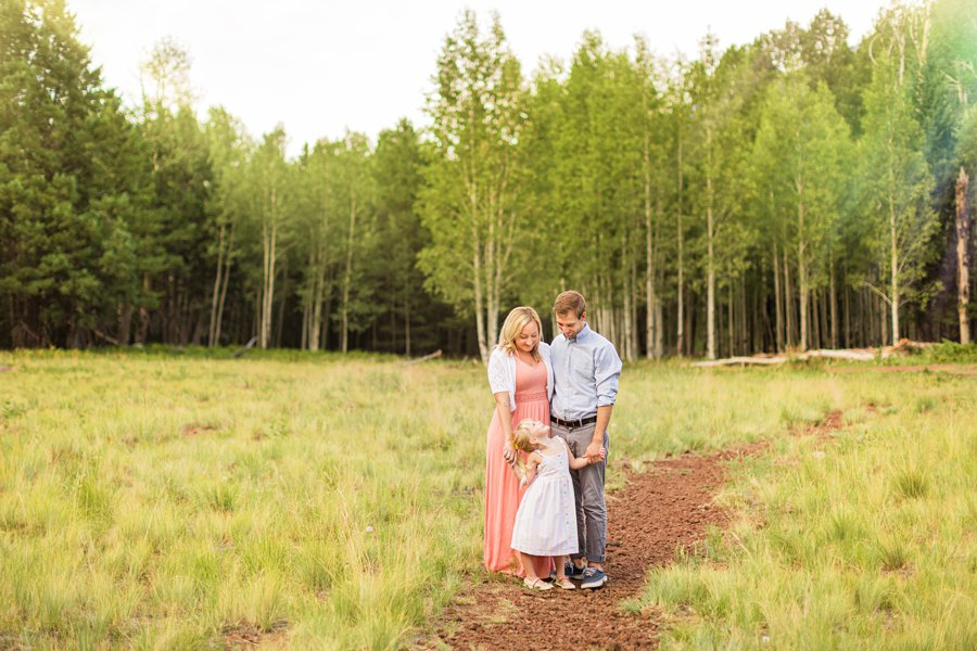 The Flood Family: Flagstaff Aspen Trees Photography greenery and meadow