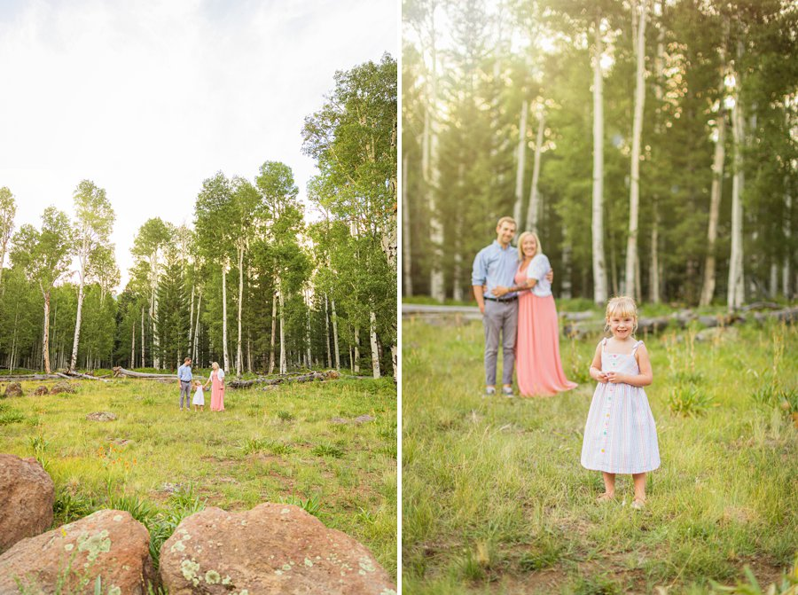 The Flood Family: Flagstaff Aspen Trees Photography importance of family photography