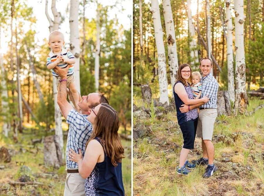Bernard Family: Flagstaff Extended Family Photographer happy family