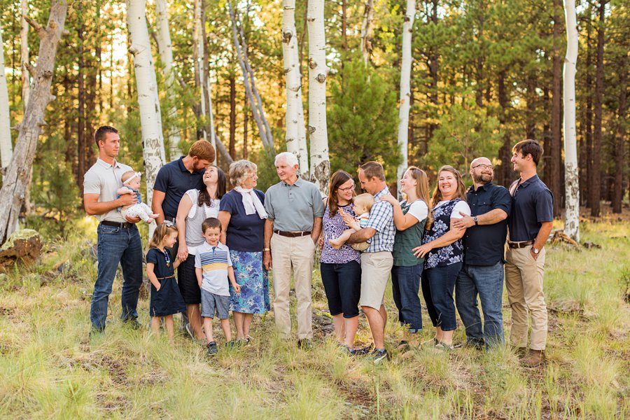 Bernard Family: Flagstaff Extended Family Photographer voted best in Flagstaff