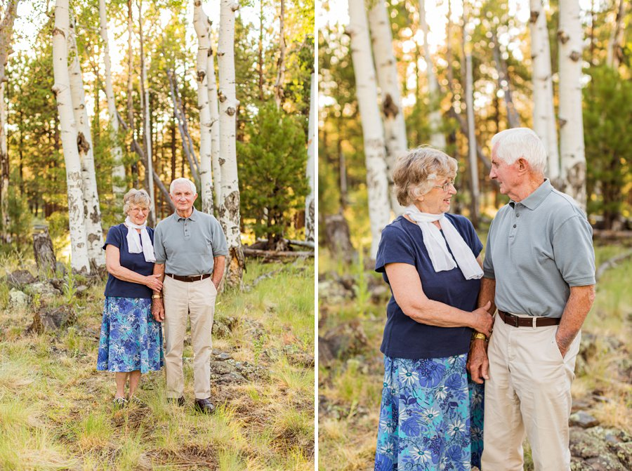 Bernard Family: Northern Arizona Portrait Photography best aspen trees generations