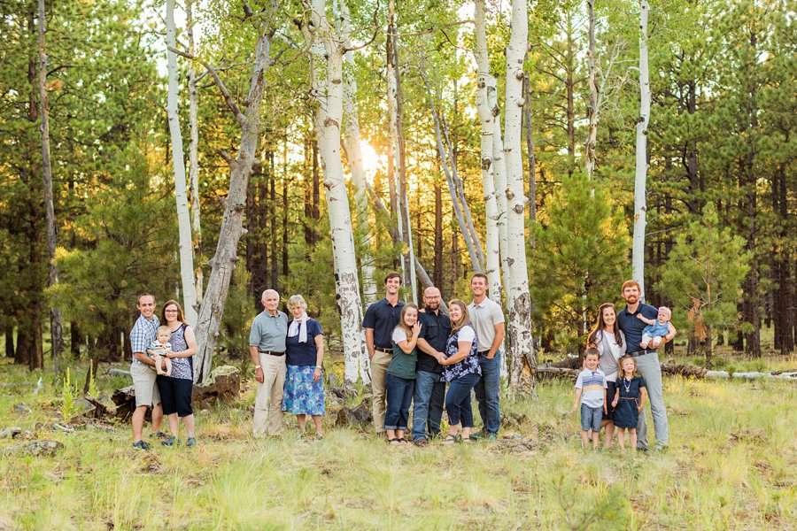 Bernard Family: Northern Arizona Portrait Photography extended families