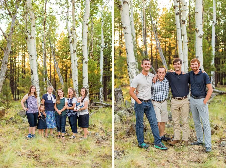 Bernard Family: Northern Arizona Portrait Photography iconic scenic locations