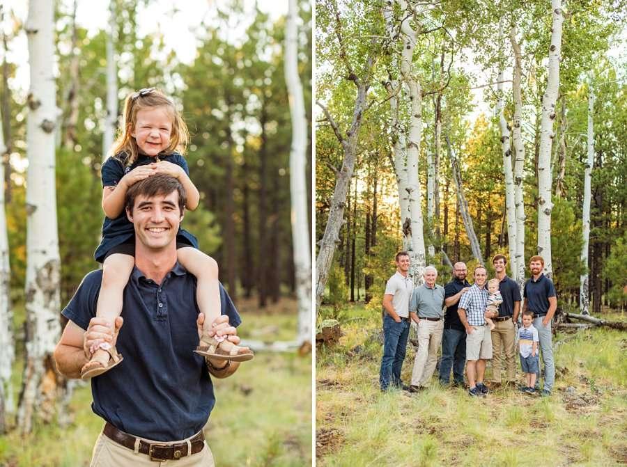 Bernard Family: Northern Arizona Portrait Photography happy family