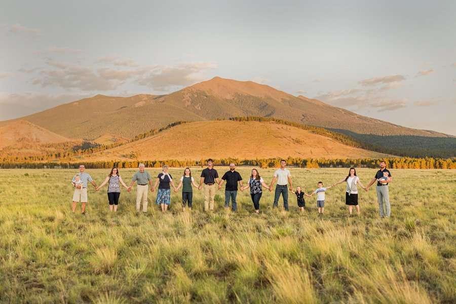 Bernard Family: Northern Arizona Portrait Photography peaks mountains arizona