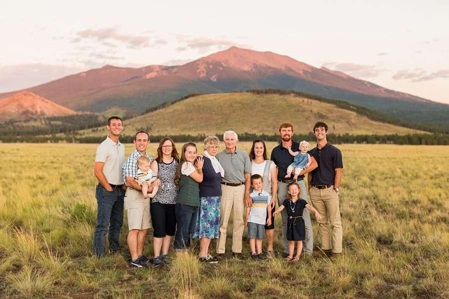 Bernard Family: Northern Arizona Portrait Photography top rated family photography