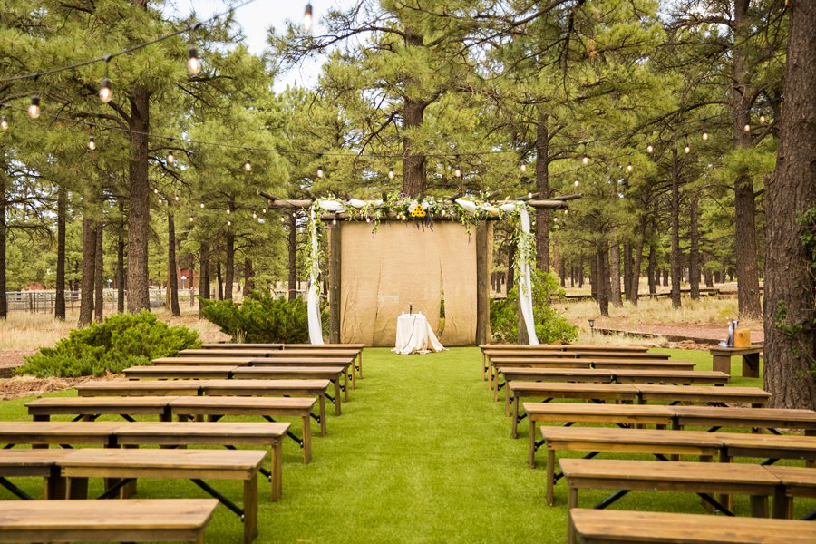 Hannah and Stephen: Meadow Mountain Flagstaff Wedding flagstaff intimate wedding sites