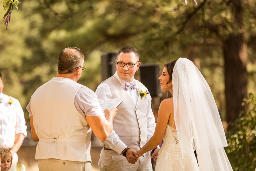 Hannah and Stephen: Northern Arizona Intimate Ceremonies grooms view