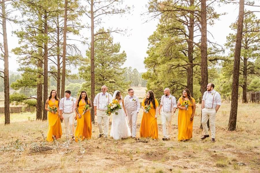 Hannah and Stephen: Northern Arizona Intimate Ceremonies COVID wedding