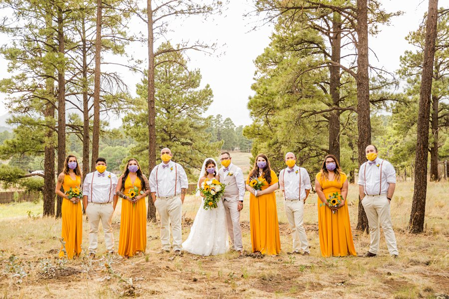Hannah and Stephen: Northern Arizona Intimate Ceremonies COVID wedding photography