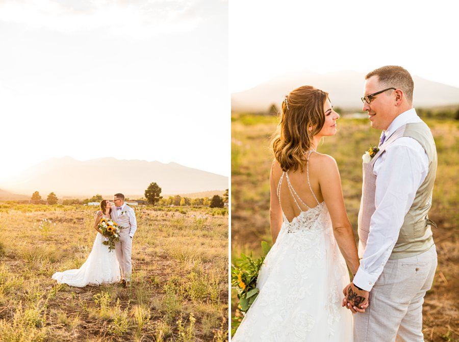 Hannah and Stephen: Northern Arizona Intimate Ceremonies best poses for couples
