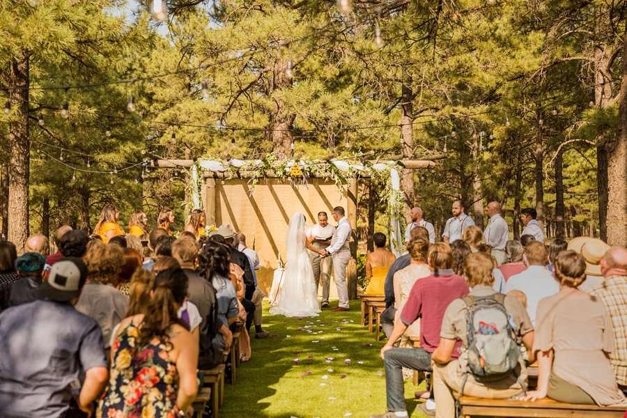 Hannah and Stephen: Northern Arizona Intimate Ceremonies best wedding locations in flagstaff az