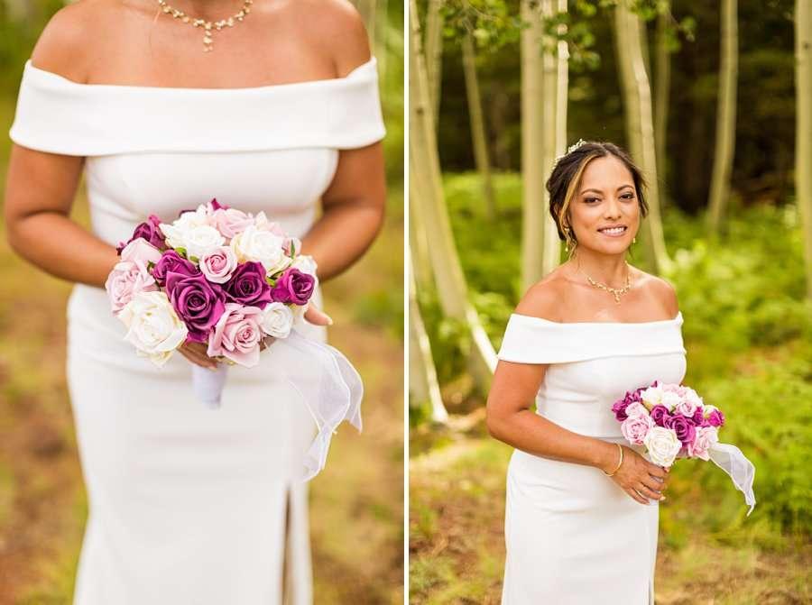 Jeanne-Marie and Rami: Arizona Mountains Wedding bridal details