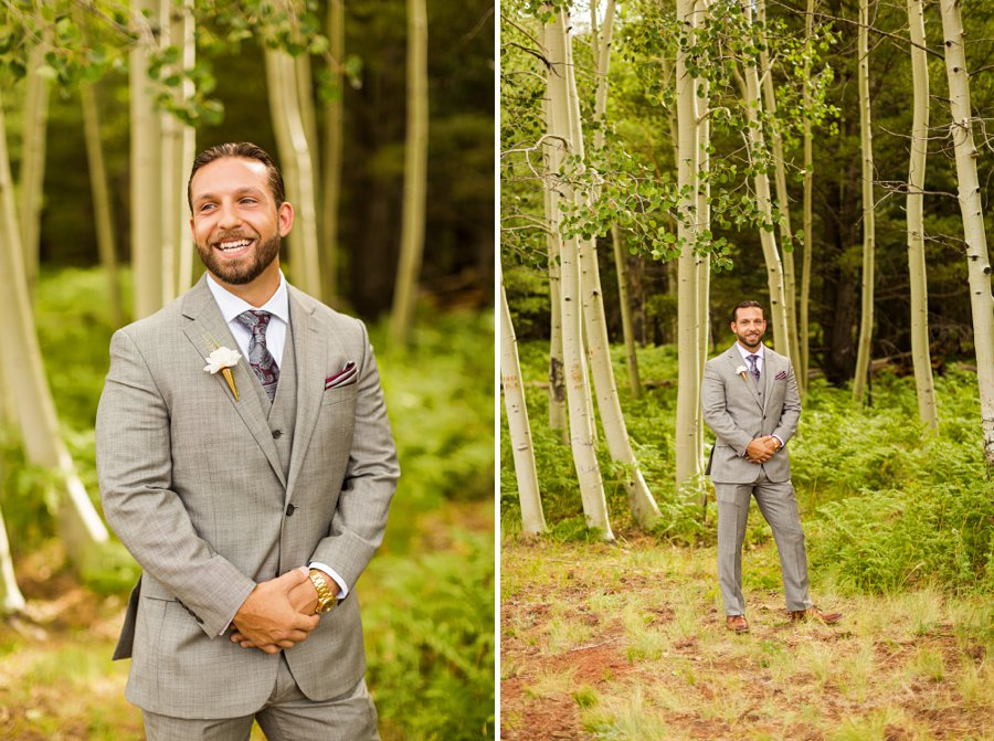 Jeanne-Marie and Rami: Arizona Mountains Wedding groom details