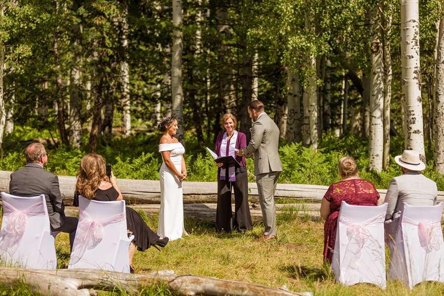 Jeanne-Marie and Rami: Arizona Mountains Wedding the ceremony