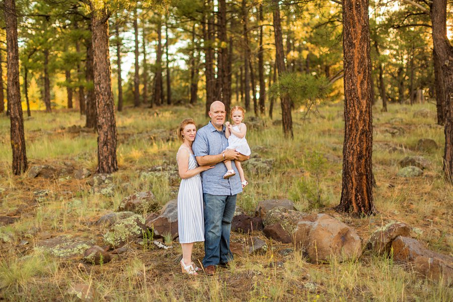 Johnstone Family: Sunflower Arizona Portrait Photographer creative and colorful