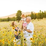 Northern AZ Wildflower Session: Johnstone Family