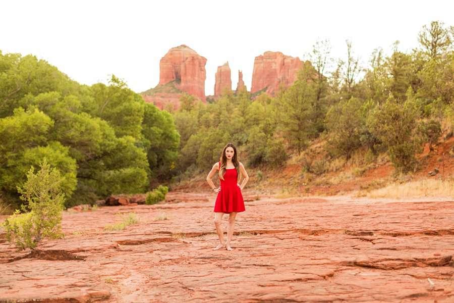 Kathryn: Sedona Personal Brand Session best places in sedona arizona