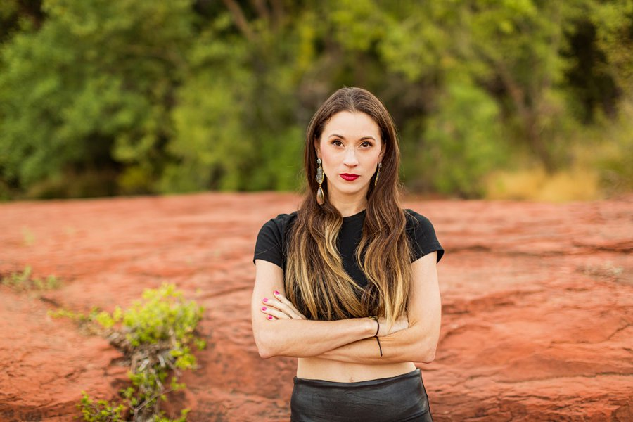 Kathryn: Northern Arizona Portrait Photography best poses in az