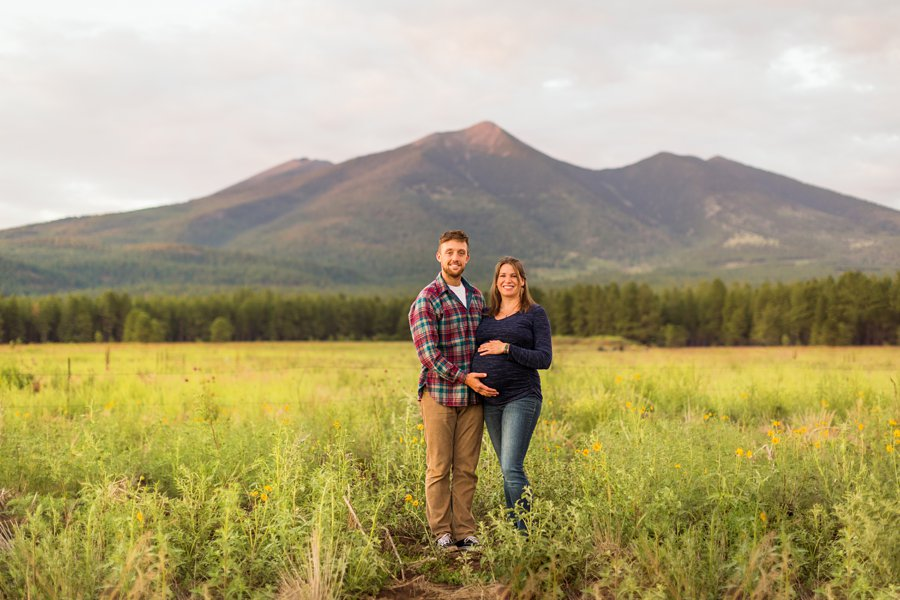 Katie and Rudy: Family Photography Flagstaff AZ best locations for sunset