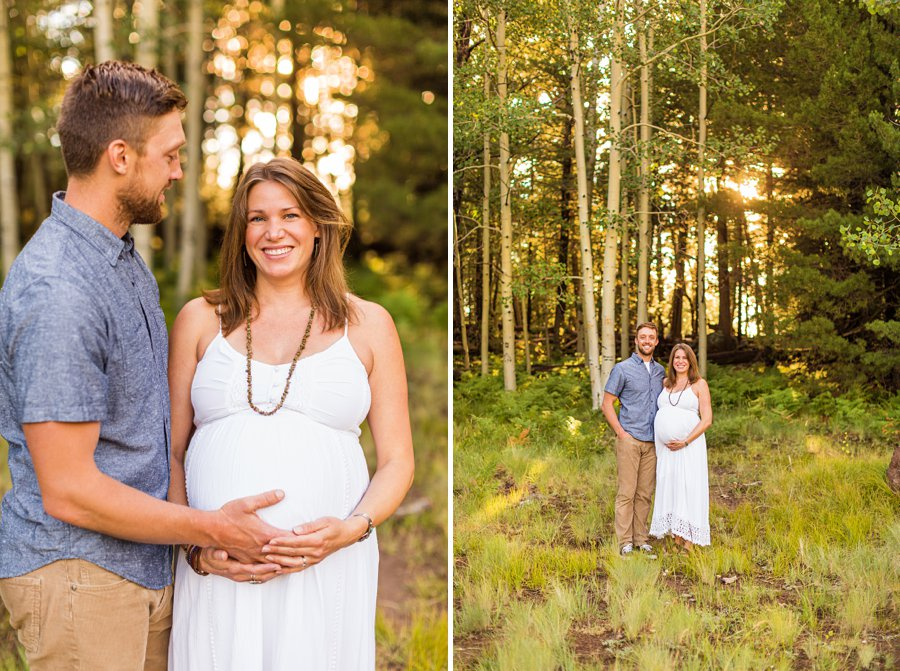 Katie and Rudy: Maternity Photographers Northern Arizona flagstaff az best of