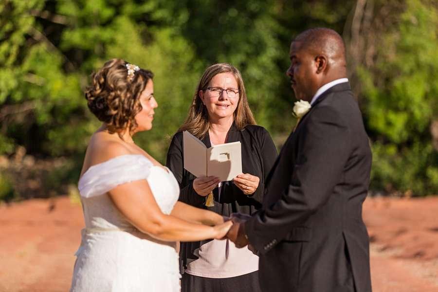 Magda and Charles: Crescent Moon Sedona Elopement weddings in sedona