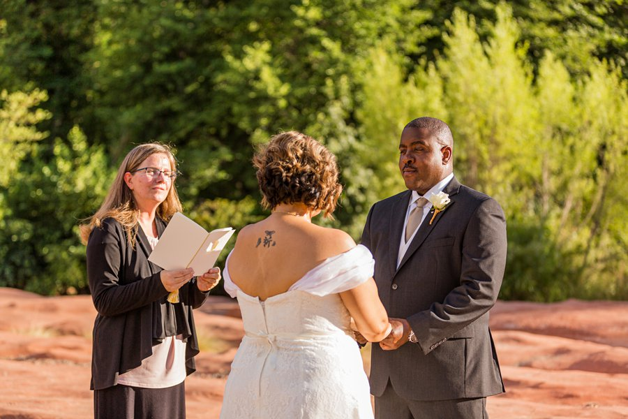 Magda and Charles: Weddings in Sedona best of