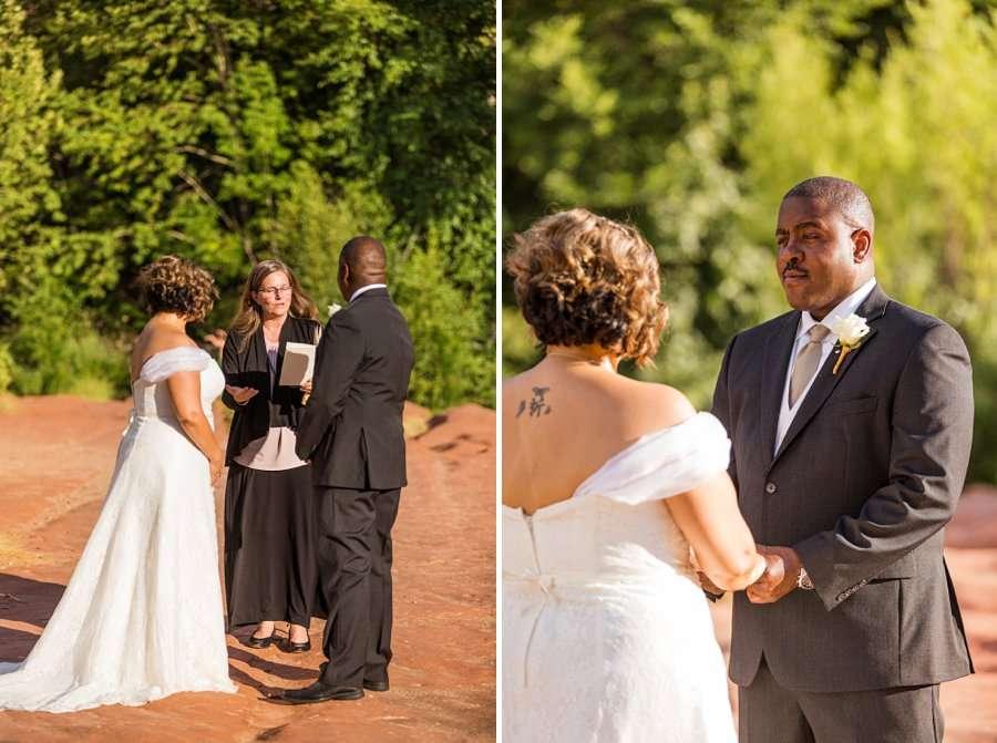 Magda and Charles: Weddings in Sedona best in arizona