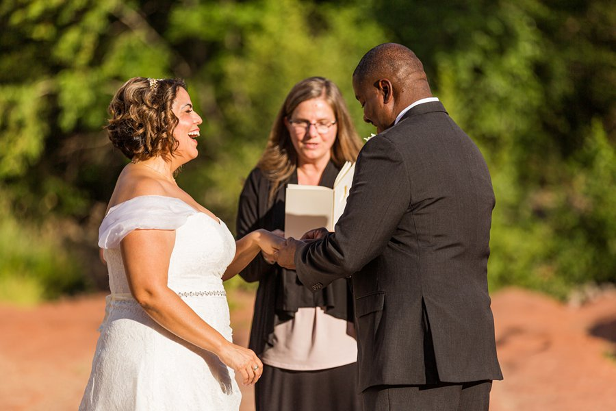 Magda and Charles: Weddings in Sedona how to elope