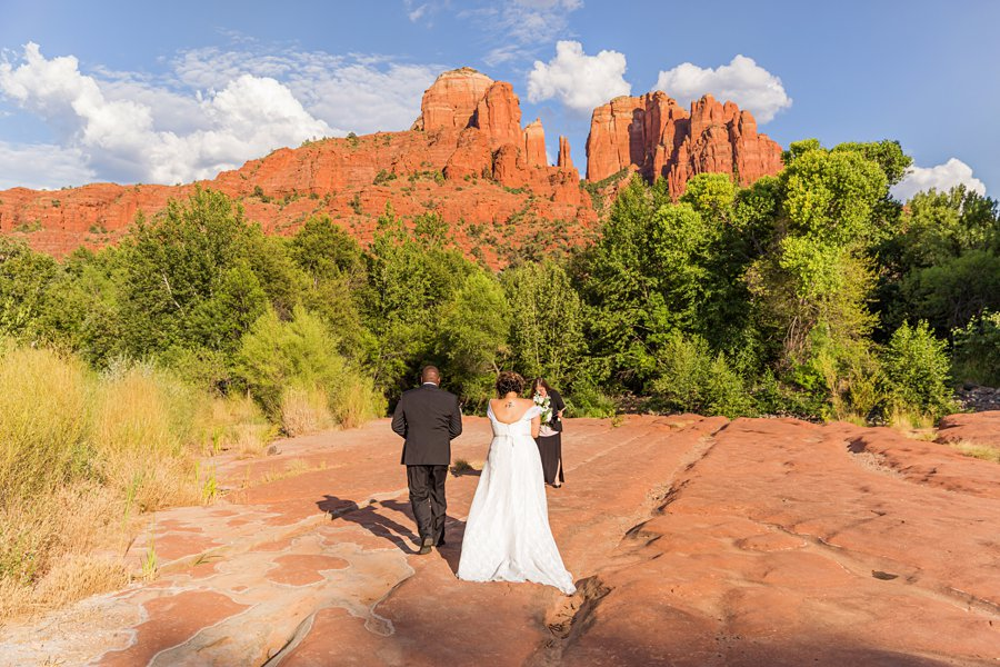 Magda and Charles: Crescent Moon Sedona Elopement how to elope in sedona