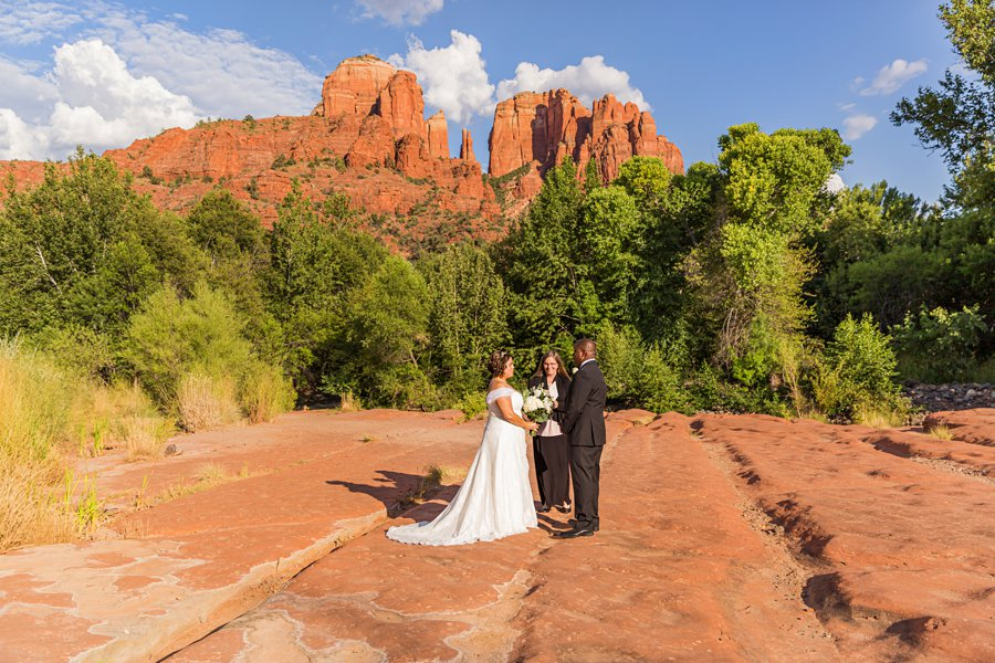 Magda and Charles: Crescent Moon Sedona Elopement best photography locations in sedona