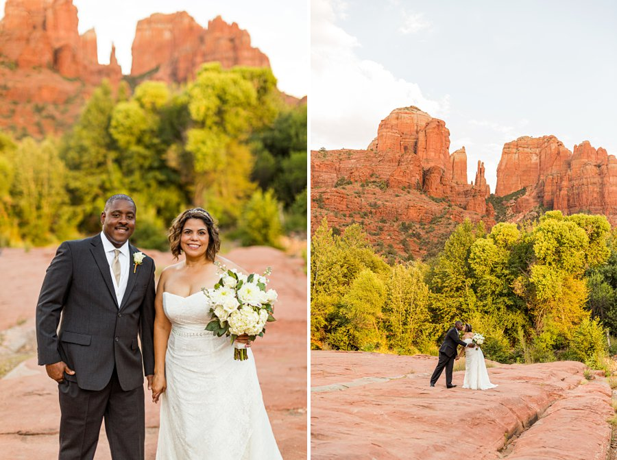 Magda and Charles: Weddings in Sedona love