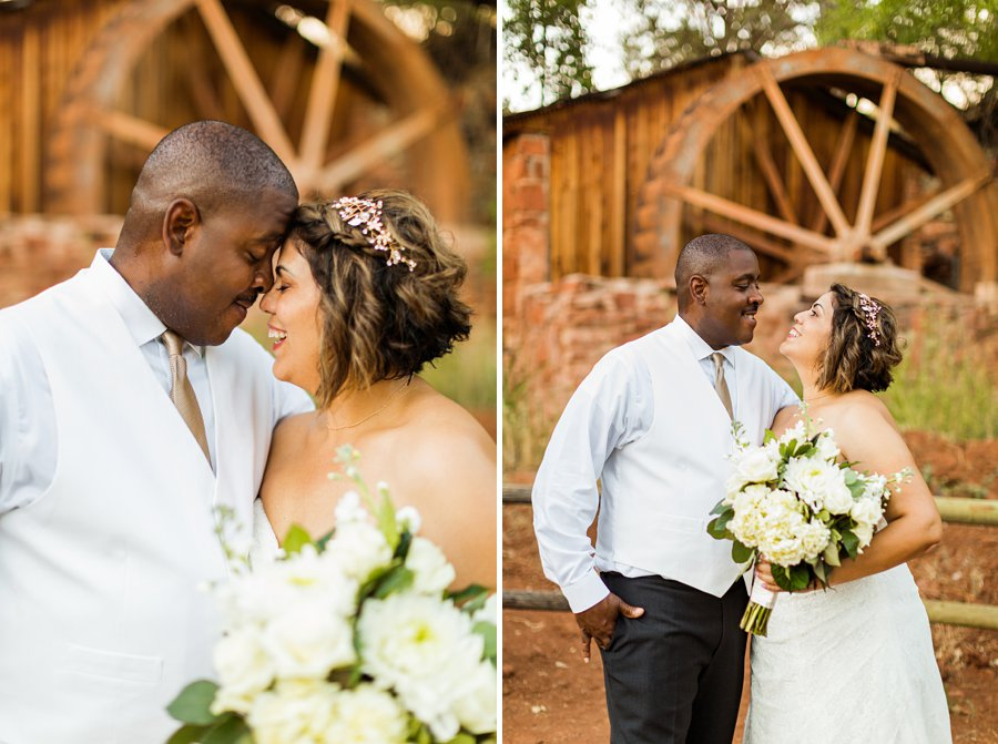 Magda and Charles: Weddings in Sedona state park