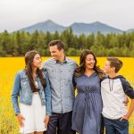 Sunflower Family Photographer Flagstaff: Vesely Family's Mini Session