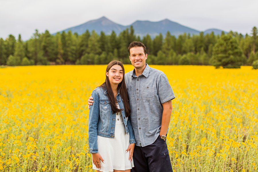 Sunflower Family Photographer Flagstaff: Vesely Family's Mini Session best locations for photography