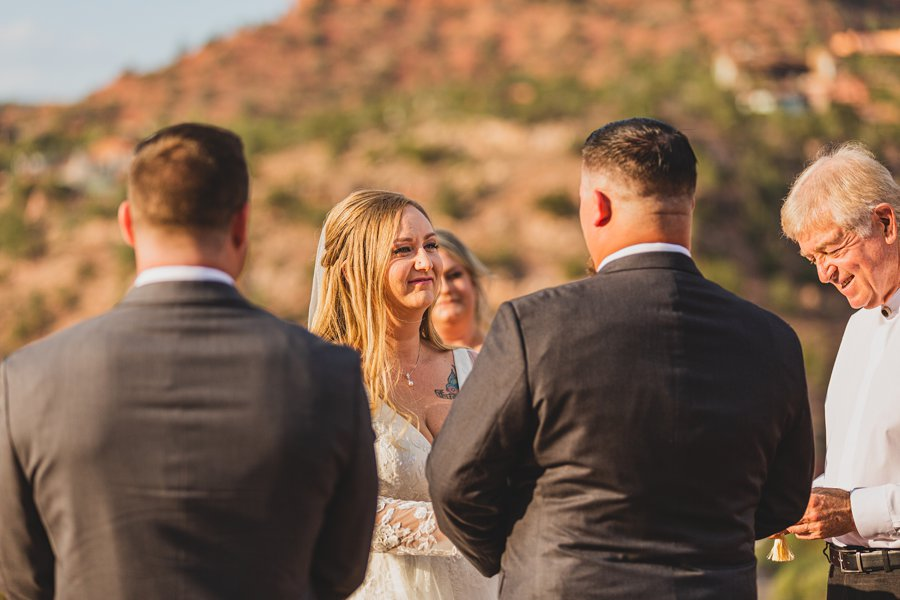 Chelsea and Bryan: Elopement Photographers Northern AZ brides view