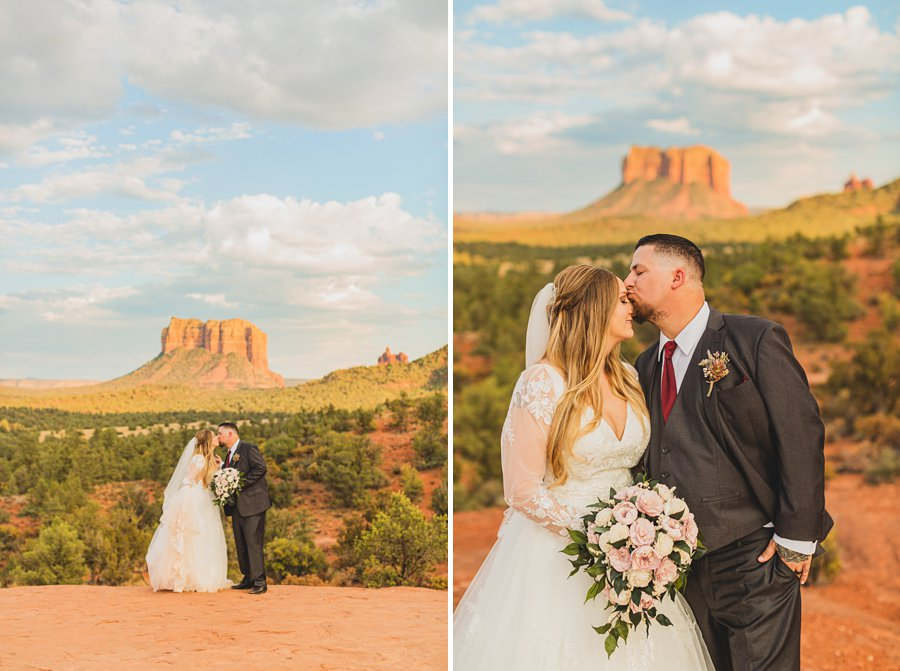 Chelsea and Bryan: Elopement Photographers Northern AZ weddings in sedona