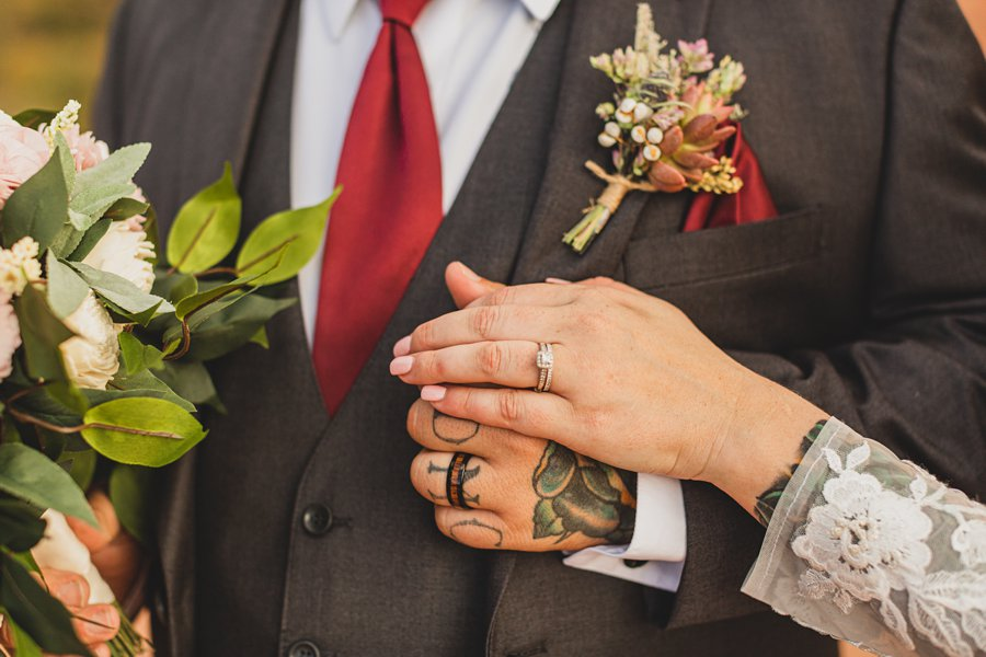 Chelsea and Bryan: Elopement Photographers Northern AZ rings