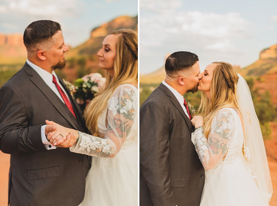 Chelsea and Bryan: Elopement Photographers Northern AZ in love