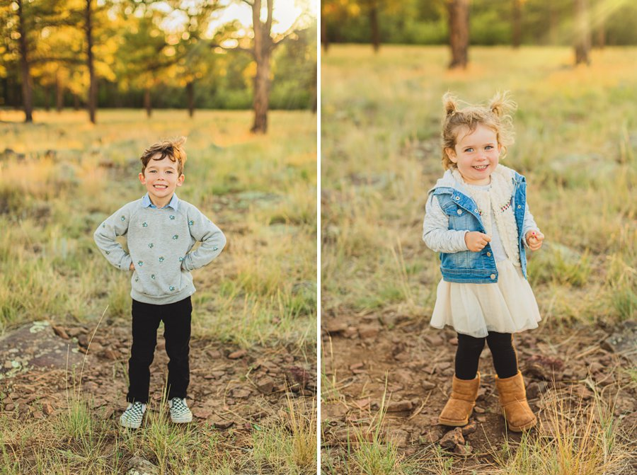 Jacobsen Family: Northern Arizona Portrait Photography kids